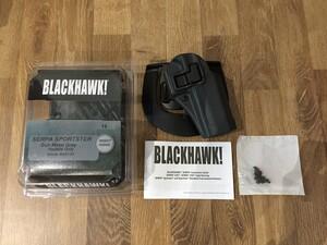 BLACKHAWK SERPA スポーツスター ホルスター 右用 413513BK-Rの写真0