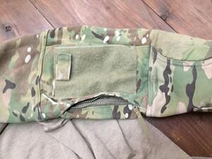 US MASSIF コンバットシャツ マルチカム M ミリタリーの写真3