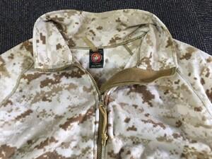 USMC フリースジャケット デザートマーパット MEDIUM REGULAR 放出品の写真2