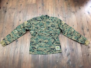 USMC プルオーバーシャツ FROG ウッドランドマーパット MEDIUM REGULARの写真0