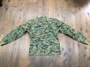 USMC プルオーバーシャツ FROG ウッドランドマーパット MEDIUM REGULARの写真1