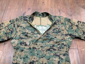 USMC プルオーバーシャツ FROG ウッドランドマーパット MEDIUM REGULARの写真2