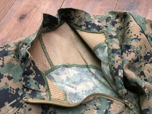 USMC プルオーバーシャツ FROG ウッドランドマーパット MEDIUM REGULARの写真3