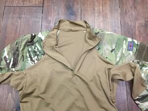 イギリス軍 MTP コンバットシャツ マルチカム Mサイズ ミリタリーの写真2