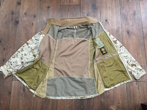 USMC コンバットジャケット デザート 迷彩 サイズM ミリタリーの写真2