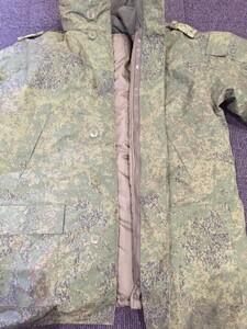 ロシア軍 ジャケット 防寒 ライナー付き デジタルフローラ迷彩 ミリタリーの写真3