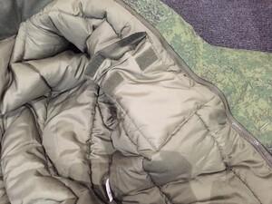 ロシア軍 ジャケット 防寒 ライナー付き デジタルフローラ迷彩 ミリタリーの写真5