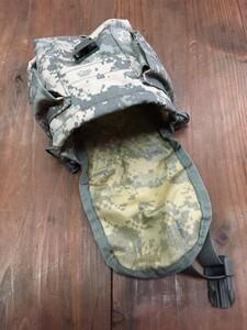 米軍 1QTキャンティーン MOLLEカバー ACU付き ミリタリー ODの写真8