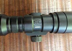 シュアファイアタイプ M300C ミニスカウトライト スイッチ付き ブラック アウトドアの写真2