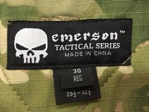 EMERSON G2 コンバットパンツ 30R マルチカム ミリタリーの写真3