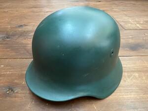 ドイツ連邦 BGS 国境警備隊 スティールヘルメット グリーン ミリタリーの写真0