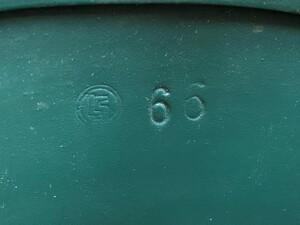 ドイツ連邦 BGS 国境警備隊 スティールヘルメット グリーン ミリタリーの写真3