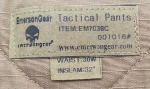 Emerson G2 コンバットパンツ CB EM7038 32インチの写真3