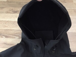 Heat Voice ソフトシェルジャケット ブラック ミリタリー アウトドアの写真3