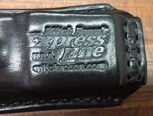 Mitch Rosen レザーマグポーチ Glock 17 MBS-EXPの写真2