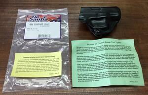 De Santis レザーホルスター MINI-SCABBARD Glock 26の写真5