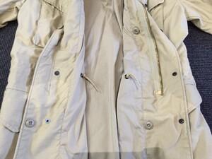 米軍 ALPHA フィールドジャケット M65 カーキ S-Rの写真6