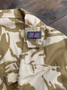 イギリス軍 MVPパーカー コンバットスモック デザートカモ 180/96 ミリタリーの写真4