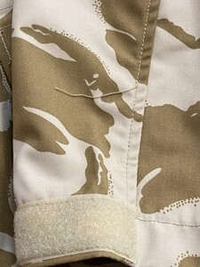イギリス軍 MVPパーカー コンバットスモック デザートカモ 180/96 ミリタリーの写真8
