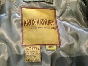 ALPHA KNOX ARMORY フライトジャケット CWU-45/P セージグリーンの写真6