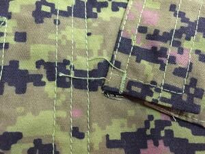 カナダ軍タイプ BDU CADPAT キャドパット XS-R 上下セットの写真5