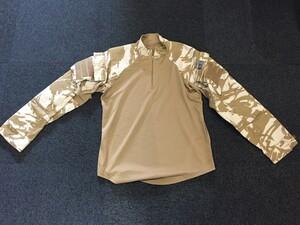 イギリス軍 コンバットシャツ デザートカモ Mサイズ ミリタリー サバゲーの写真0