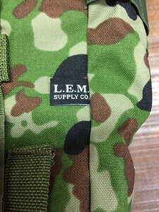 L.E.M ロールアップダンプポーチ 3型 迷彩 アウトドア サバイバルの写真9