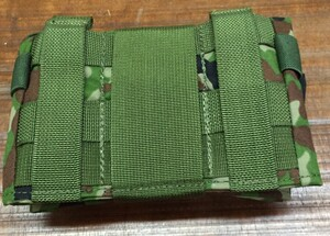 L.E.M ロールアップダンプポーチ 3型 迷彩 アウトドア サバイバルの写真6