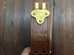 MILSCO 米軍 レザースリング M1918 ブローニング BAR用の写真2