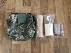 米軍 放出 メディカルポーチ MOLLEⅡ ACU 2004年契約品の写真0