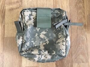 米軍 放出 メディカルポーチ MOLLEⅡ ACU 2004年契約品の写真1