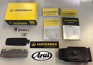 LEATHERMAN マルチプライヤー CHARGE TTI 830731 プレミアムシース付きの写真9