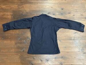 アメリカ軍 デッドストック BDUジャケット 黒 S-R ミリタリーの写真1