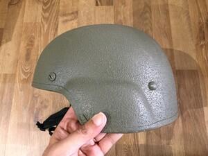 米軍 実物 TBH ヘルメット LTWT FGの写真2