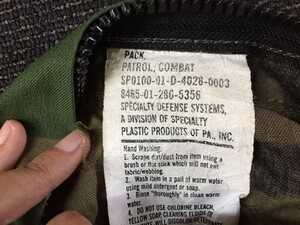 米軍放出 Patrol Combat Pack ウッドランド ミリタリーの写真4