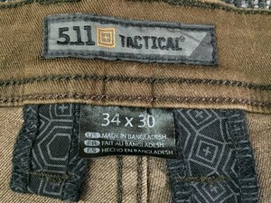 5.11 Tactical DEFENDER フレックス スリムパンツ 74464の写真6