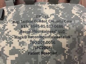米軍 実物 TCCCバッグ ACU TC3-V1 メディカルバッグの写真3