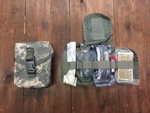 米海兵隊 実物 IFAK ACU 内容品入り メディカルポーチの写真0