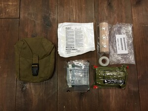 米海兵隊 実物 IFAK コヨーテ 内容品入り メディカルポーチの写真0
