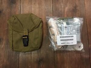 米海兵隊 実物 IFAK コヨーテ 内容品入り メディカルポーチの写真1