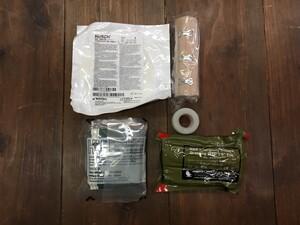 米海兵隊 実物 IFAK コヨーテ 内容品入り メディカルポーチの写真6
