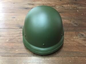 自衛隊 88式 ヘルメット OD 大 4点式あご紐付きの写真0