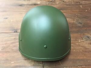 自衛隊 88式 ヘルメット OD 大 4点式あご紐付きの写真1