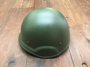 自衛隊 88式 ヘルメット OD 大 4点式あご紐付きの写真2