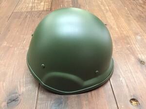 自衛隊 88式 ヘルメット OD 大 4点式あご紐付きの写真3