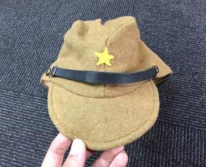 旧日本軍 軍帽 昭和18年製 XLサイズ レプリカ ミリタリーの写真0