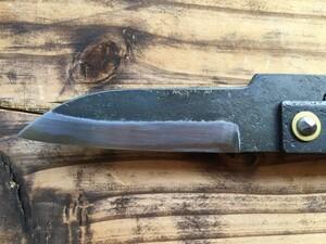 古式鍛造工房くろがね 肥後守 山童 中 打刻なし 折りたたみナイフの写真2