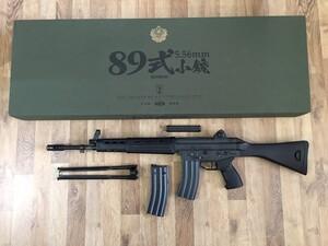 東京マルイ ガスガン 89式5.56mm小銃 ライフル 固定銃床型 予備マグ・マウントベース付きの写真0