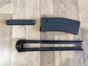 東京マルイ ガスガン 89式5.56mm小銃 ライフル 固定銃床型 予備マグ・マウントベース付きの写真9