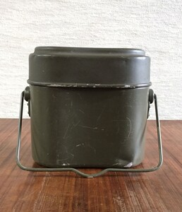ドイツ商品コード 必須連邦軍 3段キャンティーンGerman Mess Kit の写真1